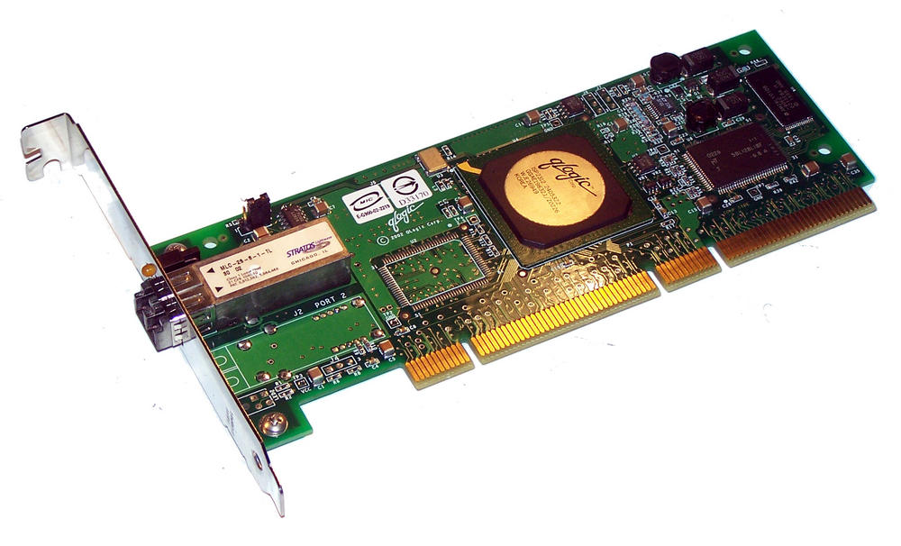 Dell 4U852 PCI-X133 Single port 2Gbps Fibre Channel Card Qlogic QLA2340 Std Brkt